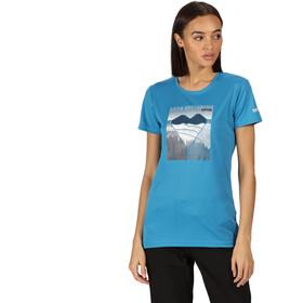 Regatta Fingal V Camiseta Mujer, blue aster